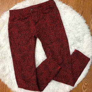 HP 🎉🥳 Zara Leopard Print Ankle Jeans